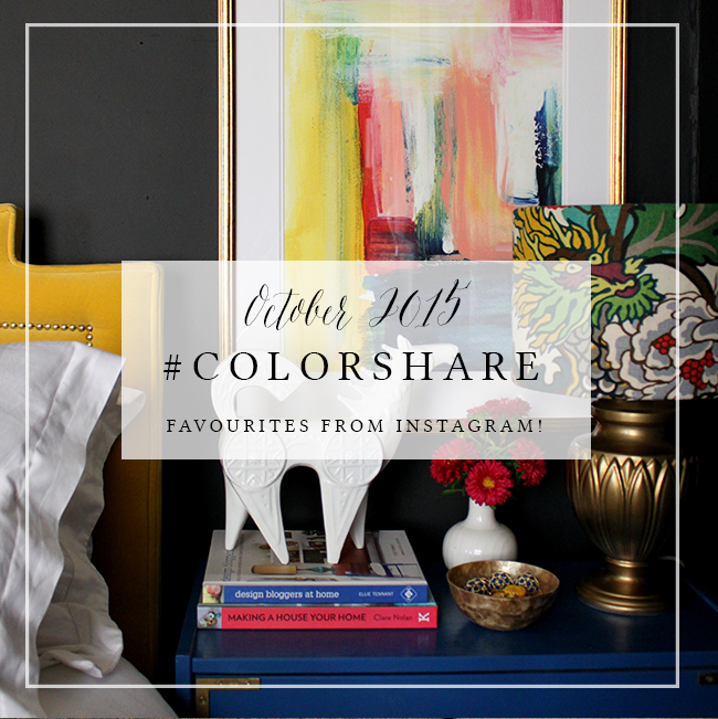 My Favourite Instagram #colorshare – Oct 2015