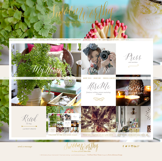 Swoon Worthy Jan 2015 Home Page