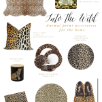 Leopard Print Accessories for the Home