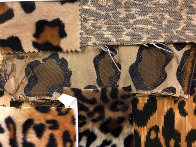 leopard print fabrics