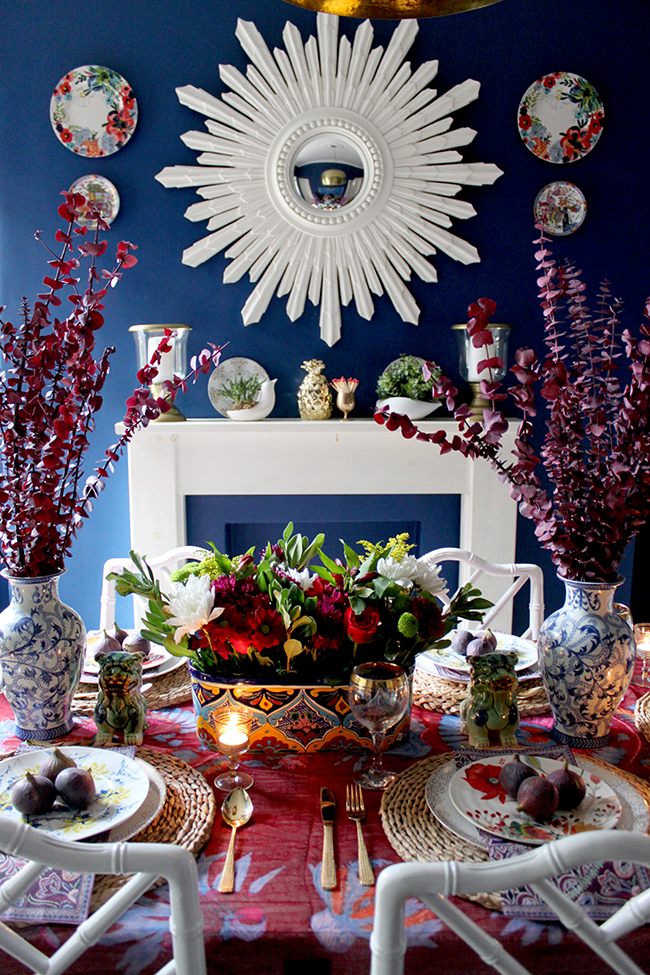 Blogger Stylin' Home Tours: My Thanksgiving Table