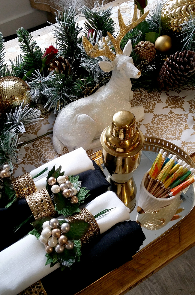 Christmas Table Styling for AO Event
