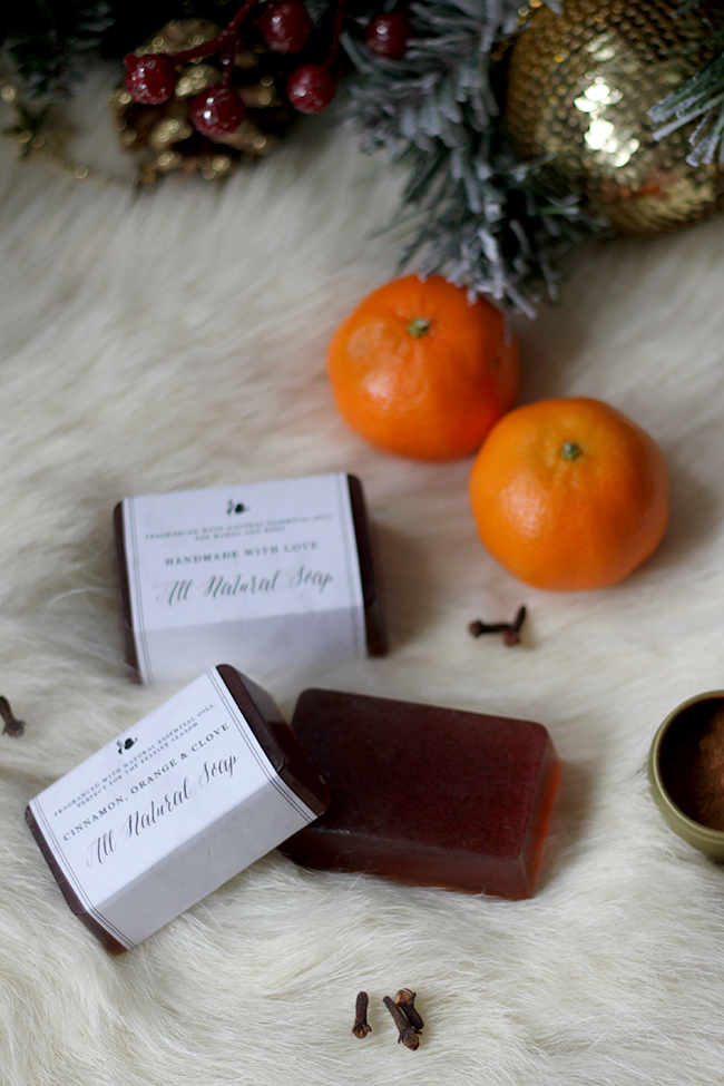 For handmade gifts look no further than my DIY Christmas soap with essential oils!
