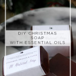 DIY Christmas Soap with Essential Oils