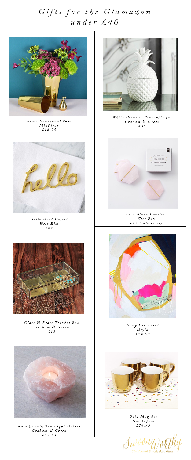 Gifts for the Glamazon - Christmas Gift Guide - Swoon Worthy