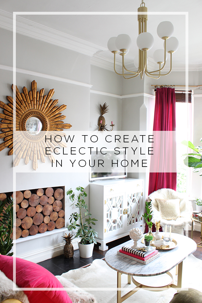 Want to inject some personality into your interiors? Take a look at my top tips on how to create eclectic style in your home.