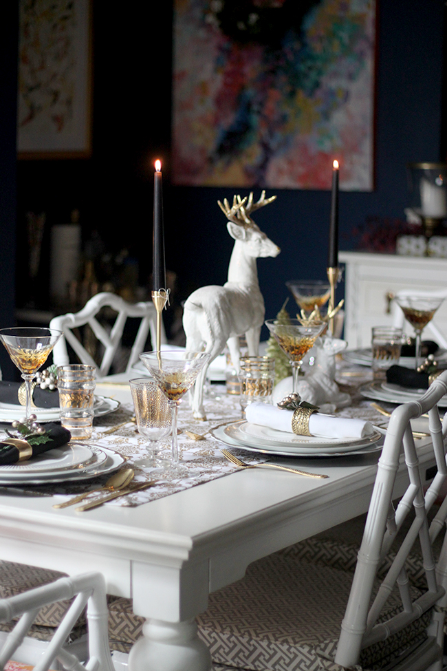 My 2015 Christmas Table Setting Swoon Worthy