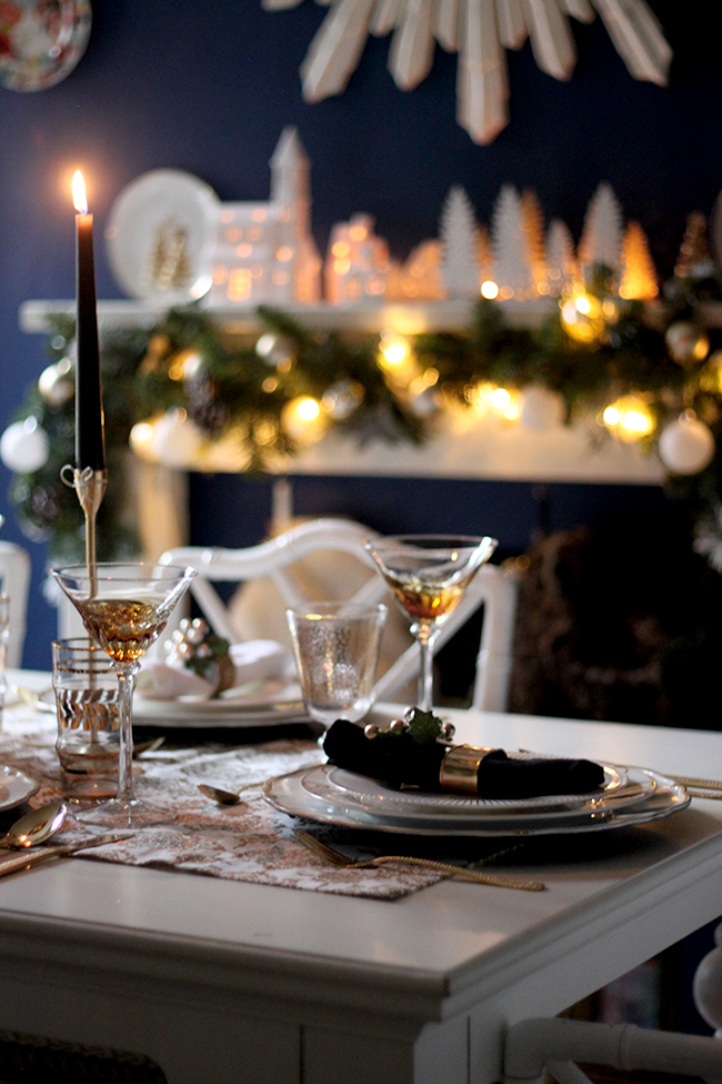My 2015 Christmas Table Setting