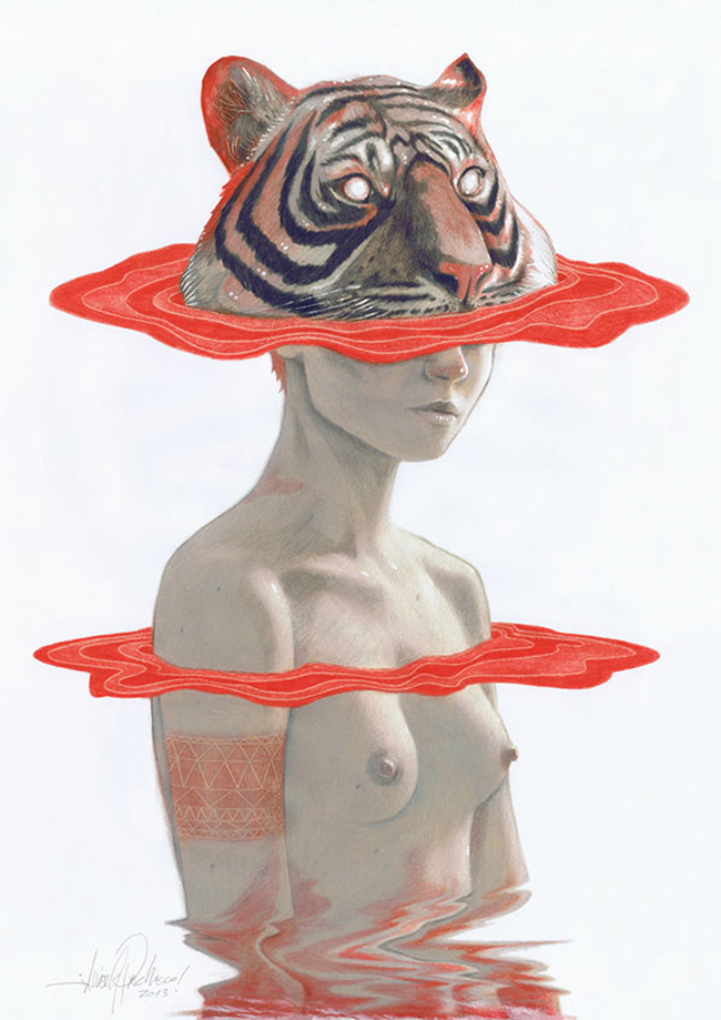 Tiger Girl by Javier Pacheco via Swoon Worthy