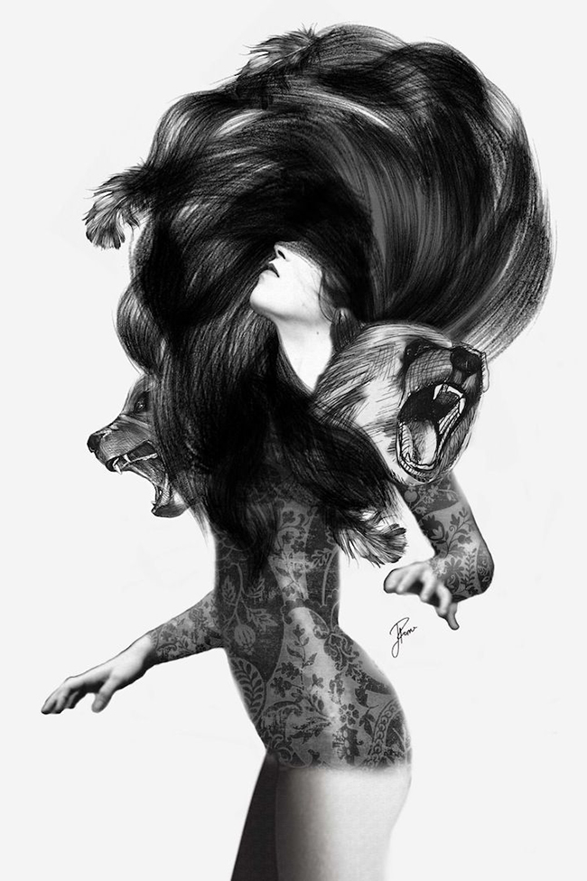 Jenny Liz Rome - Bear 3 via Swoon Worthy