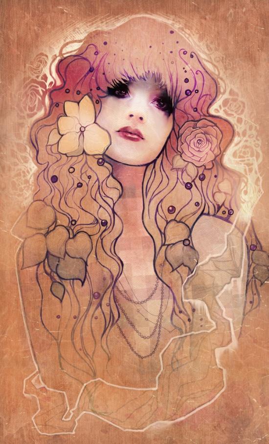 Megan Lara - Lauren print via Swoon Worthy
