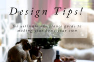 The A-Z of Design Tips from Swoon Worthy