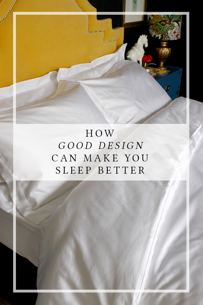 How Good Design Can Make You Sleep Better