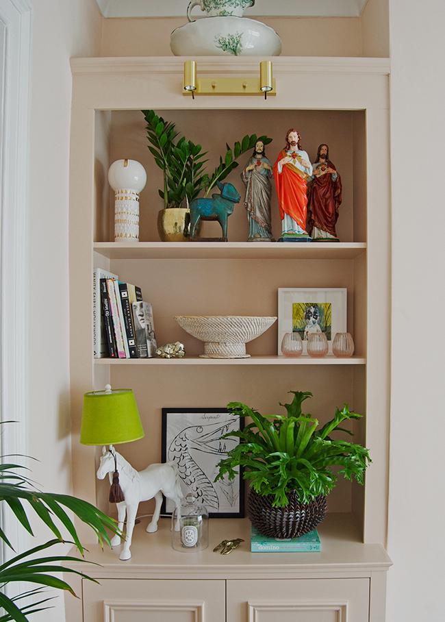 Bianca Hall Shelf Styling