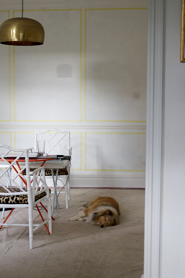 Dining Room Remodel: Picking Paint and Planning Panels!