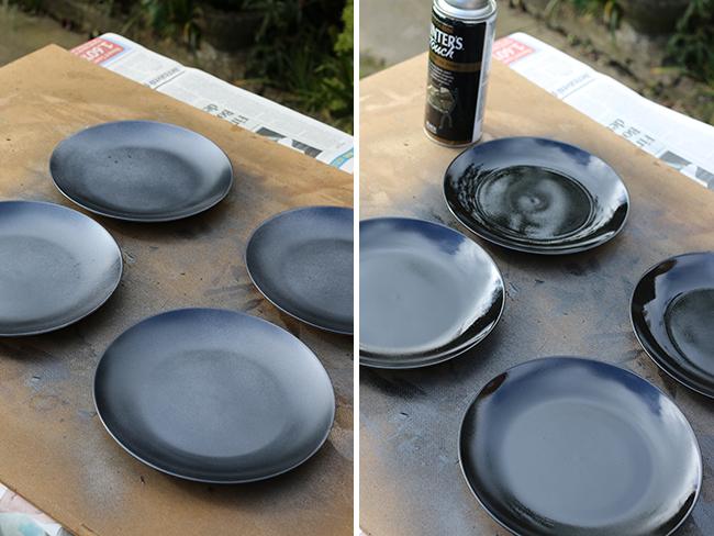 DIY Malachite Coasters Step 1 and 2