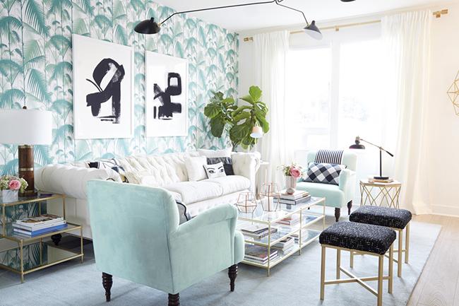 Emily Henderson Nicole Mason Living Room
