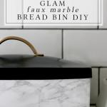 Glam DIY Bread Bin and My New Ruffoni Jars