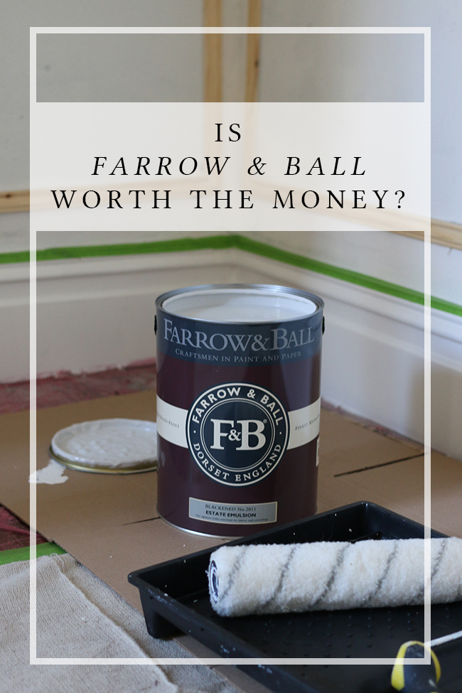 Is Farrow & Ball worth the money? Is the paint really good quality? Does it live up to the hype? I made it my mission to find out!