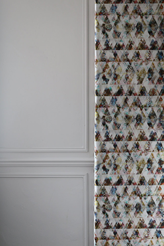 Dining Room Remodel: Putting Up Eades Bespoke Wallpaper