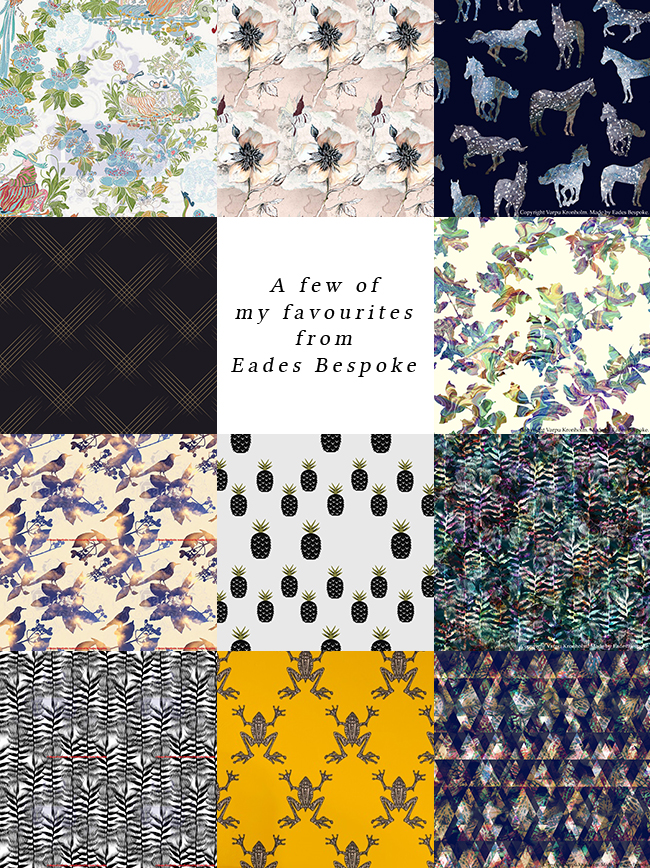 Eades Bespoke Wallpaper - see more at www.swoonworthy.co.uk