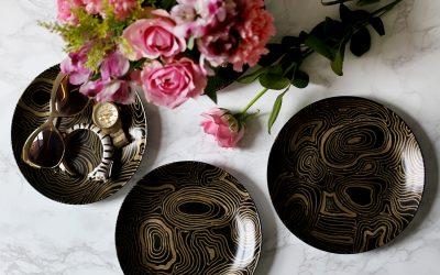 Jonathan Adler Malachite Coasters Knockoff DIY