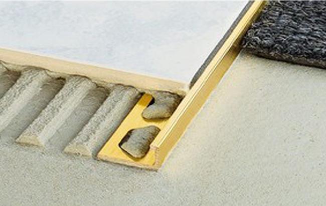 brass edge strip for tiles
