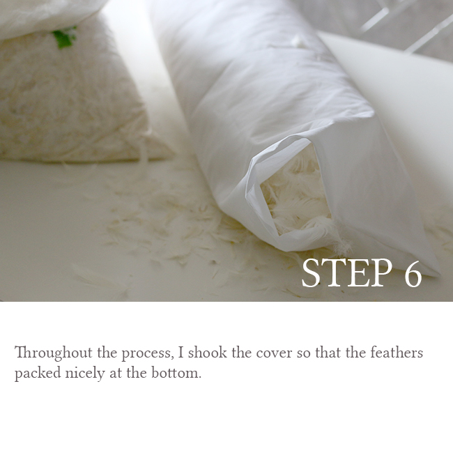 DIY Bolster Cushion Step 6