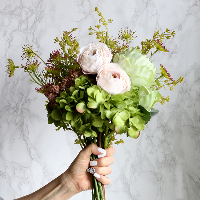 Abigail Ahern faux flowers