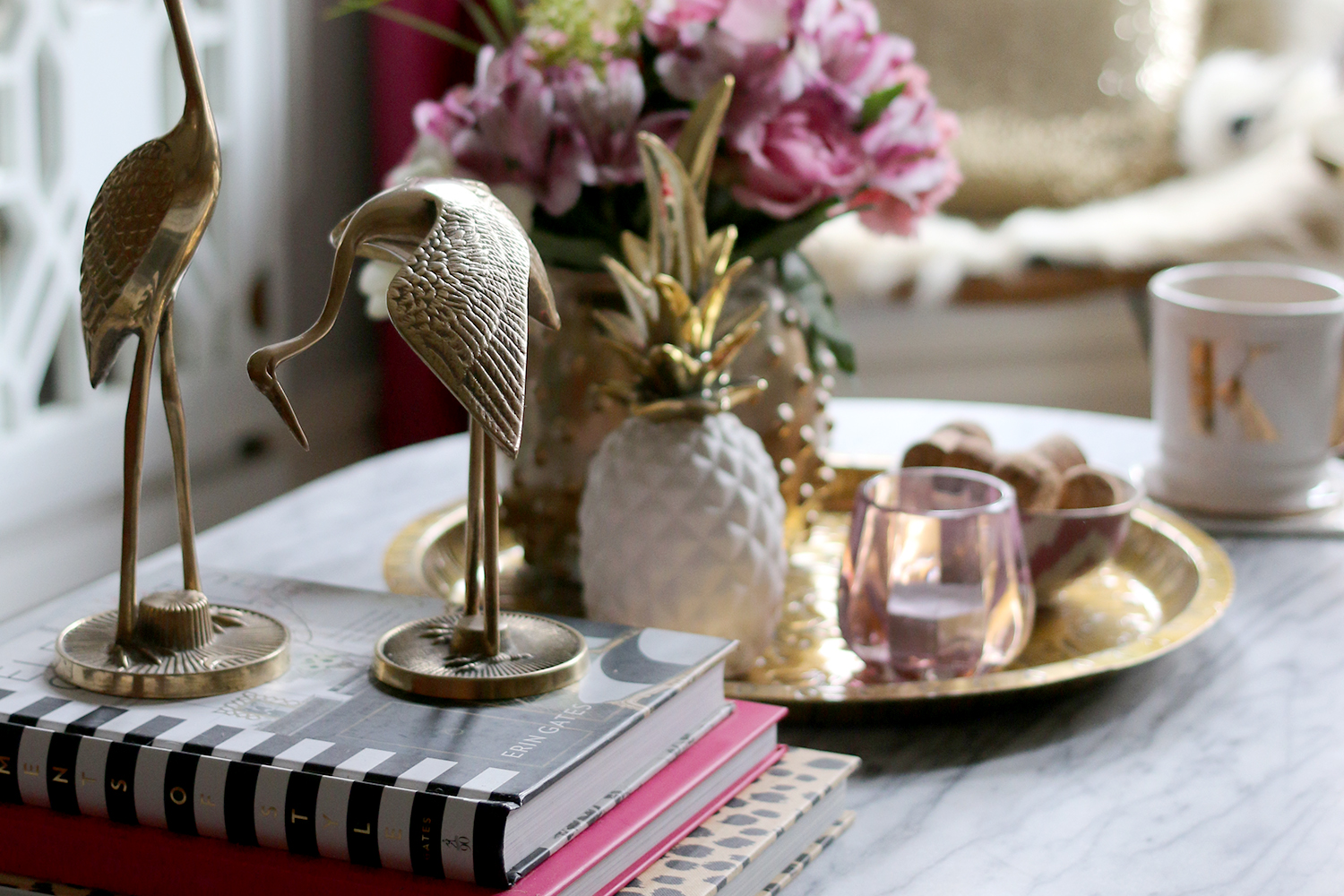 My Formula For A Perfect Coffee Table Vignette Swoon Worthy