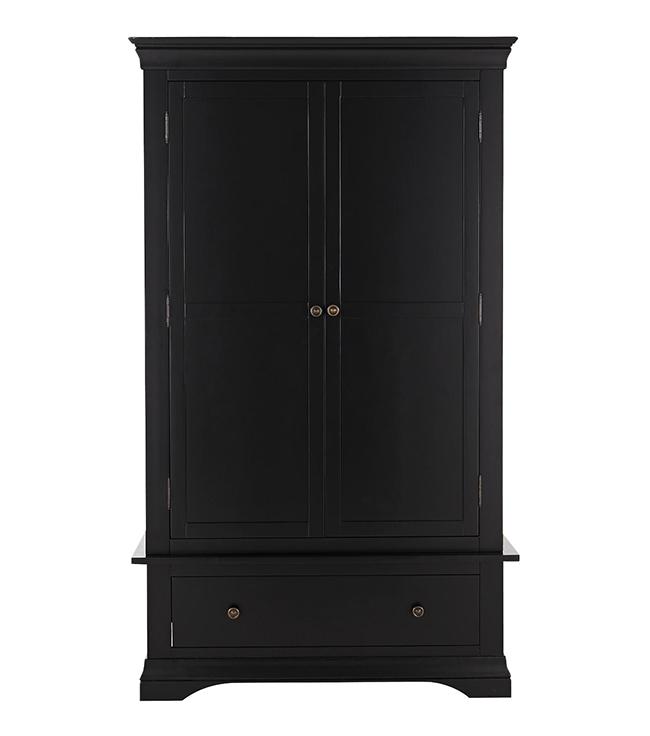 Constance 2 door wardrobe in black from Very