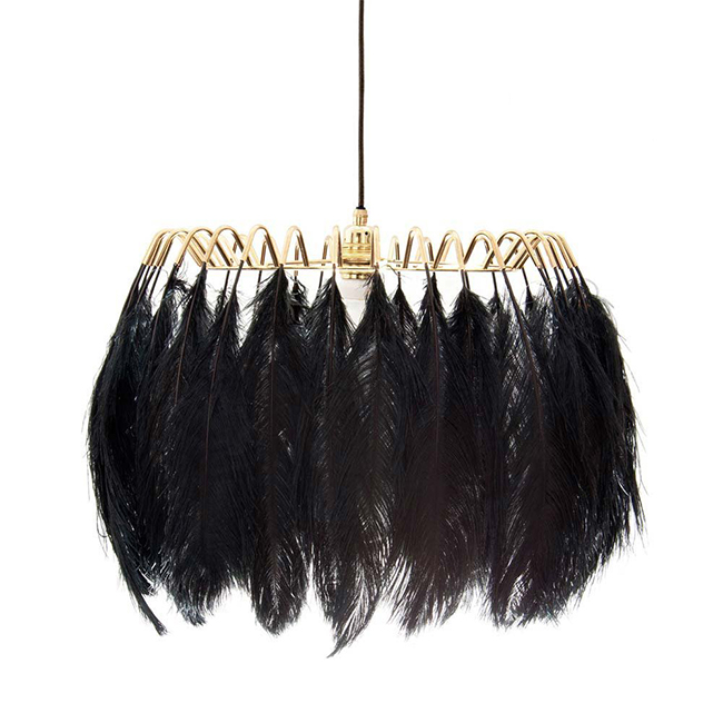 plumage-black-feather-pendant-lamp