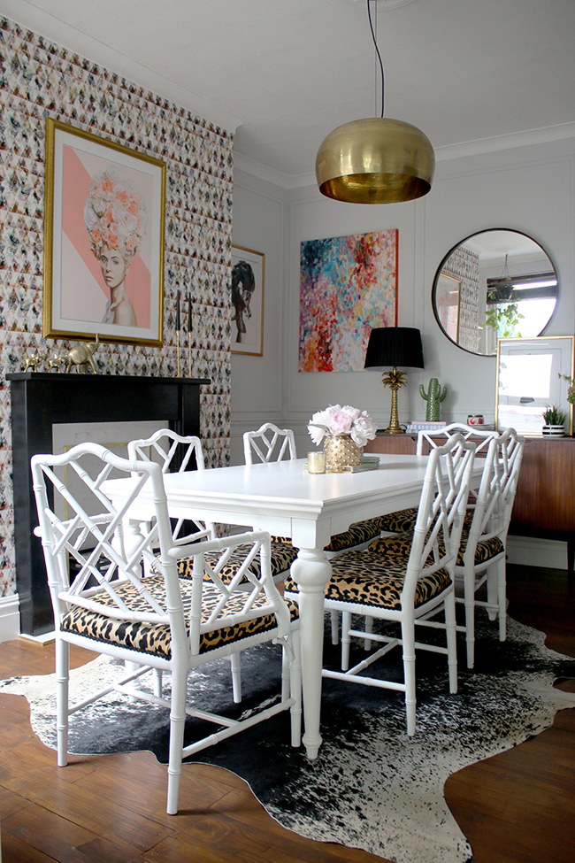 The Reveal Of My Eclectic Boho Glam Dining Room Swoon