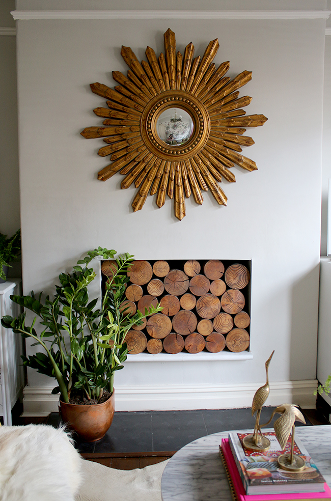 Summer living room on Blogger Stylin' Home Tour