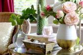 Summer living room on Blogger Stylin