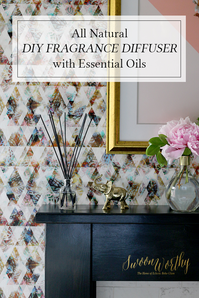 DIY All Natural Fragrance Diffuser with Essential Oils