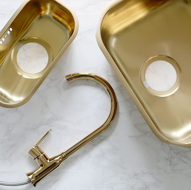 gold sinks and tap
