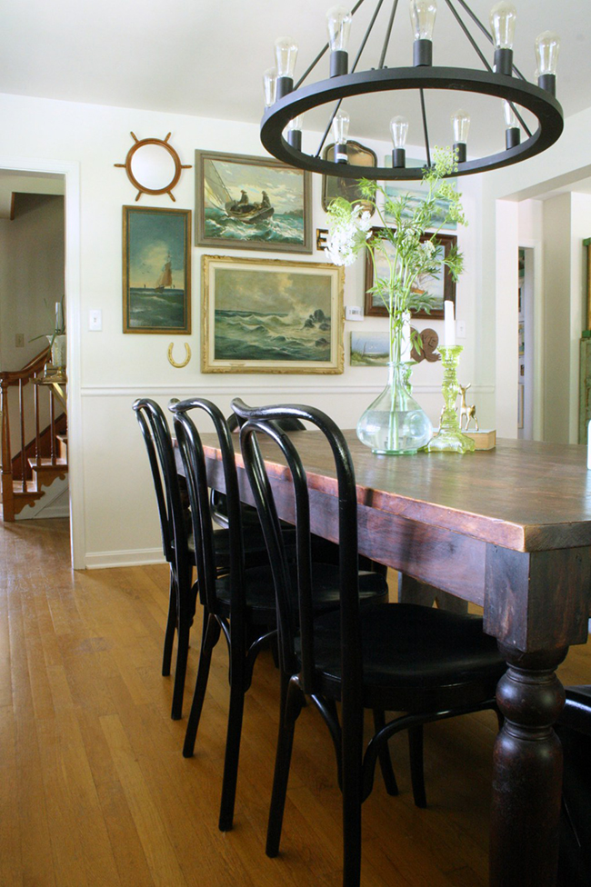 Cassie Primitive and Proper dining room