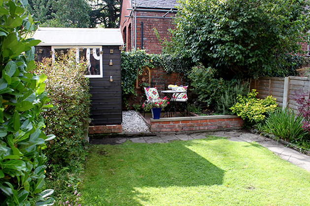 The REVEAL Of My Back Garden Patio Makeover Swoon Worthy - Back garden