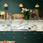 Two Beautiful Green Kitchens You HAVE to See