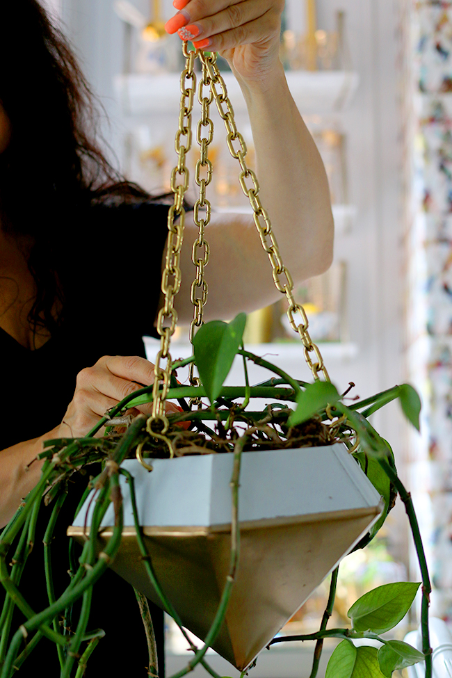 DIY Hanging Planter Step 5