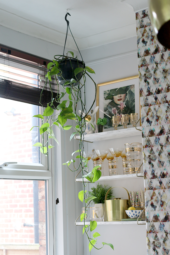 DIY Hanging PlanterFrom Industrial to Glam! » Swoon Worthy