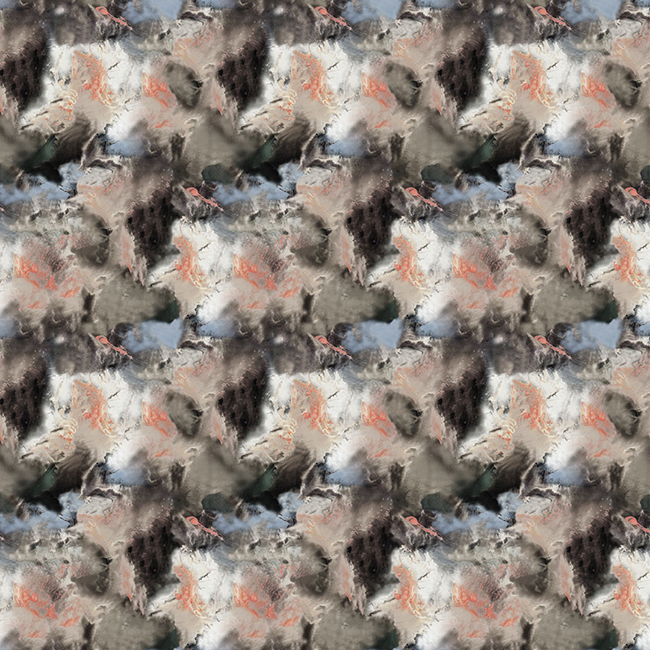 17 Patterns Cloudbursting in Peach