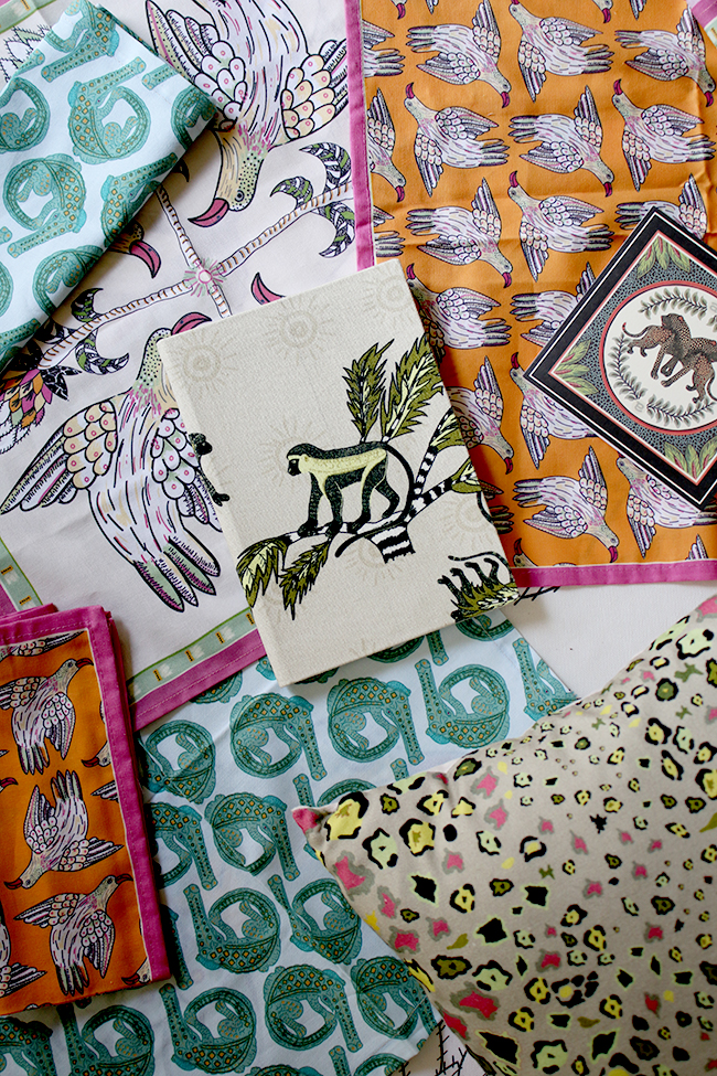 Halsted Design textiles in african-inspired prints