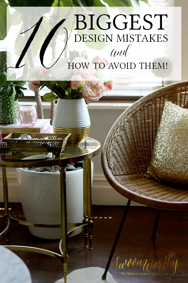 The 10 Biggest Design Mistakes and How to Avoid Them!