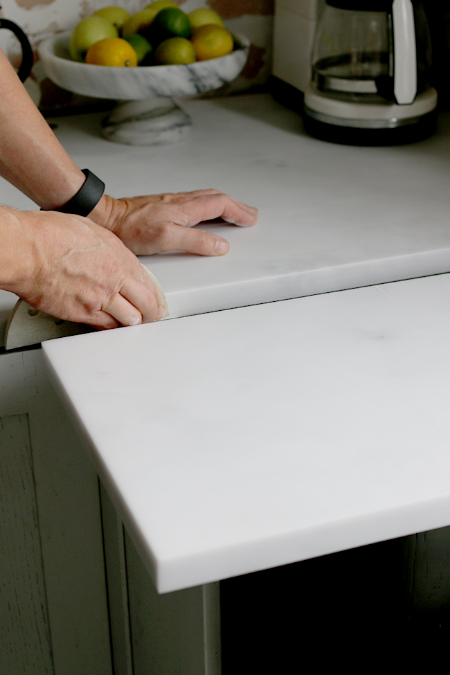 How to Join Minerva Acrylic Worktops Step 1
