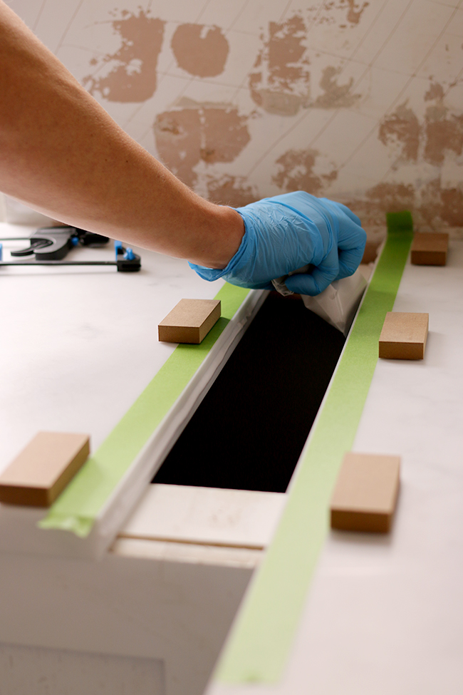 How to Join Minerva Acrylic Worktops Step 4