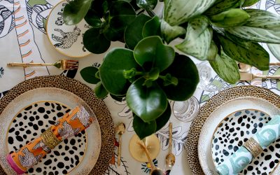 Eclectic Boho Glam Table Setting with Halsted Design