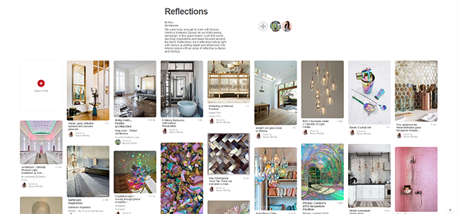 reflections-board-on-pinterest