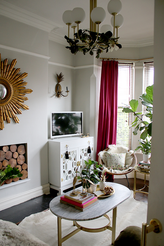 Small Boho Living Room: How To Quickly Update A Room Without Spending Money